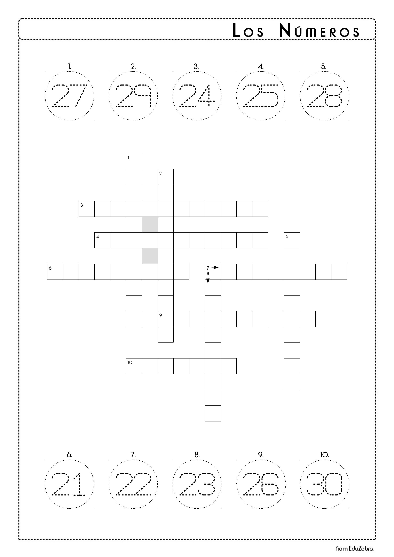 Numbers In Spanish Los Numeros 21 30 Activity Pack Kindergarten Grammar Worksheets Kindergarten Worksheets Spanish Worksheets [ 2716 x 1920 Pixel ]
