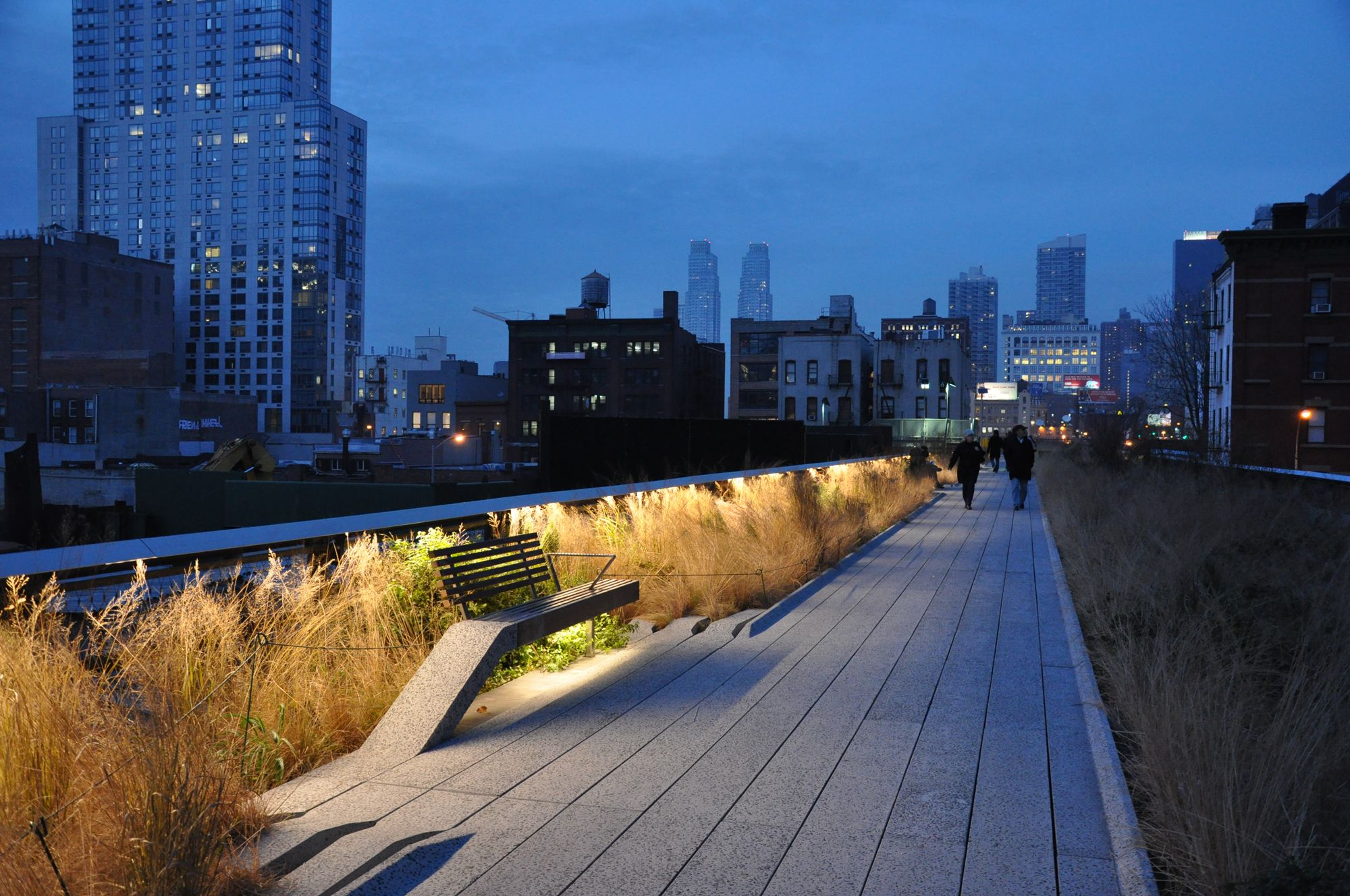 Designers james corner field operations location new for New york city highline