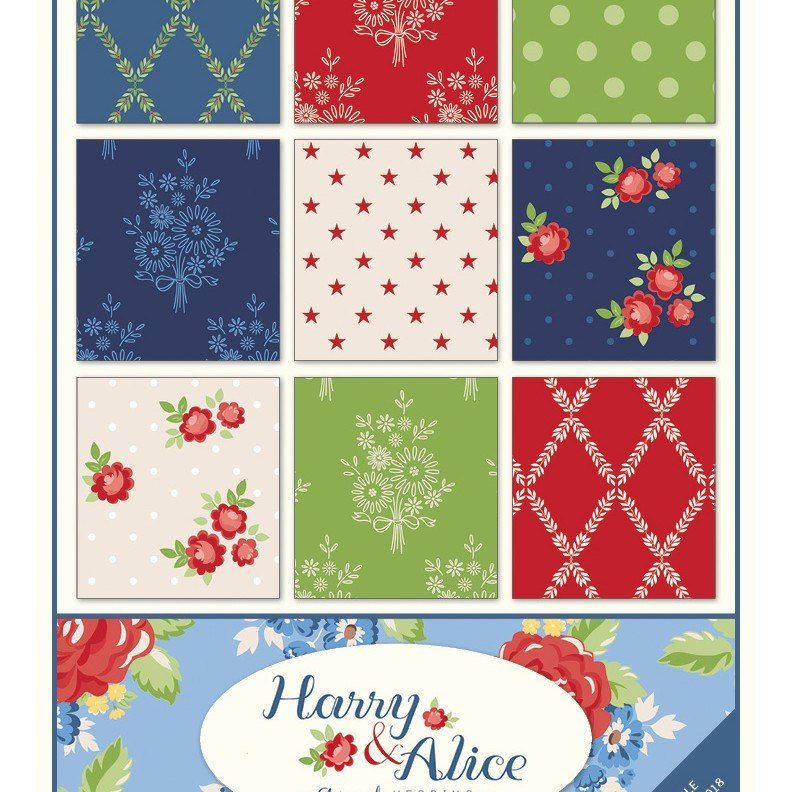 42-10 inch Precut Fabric Quilt Squares by Me /& My Sister Designs Flower Sacks Layer Cake