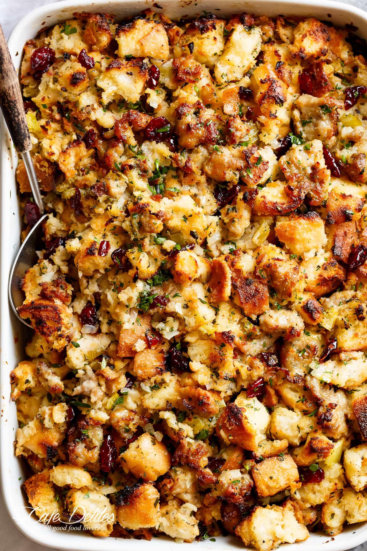 Sausage Herb Stuffing | Recipe | Recipes | Herb stuffing ...