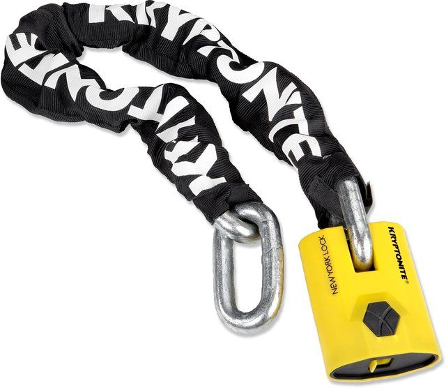 Kryptonite New York Legend 1590 Chain Lock With Images Bike