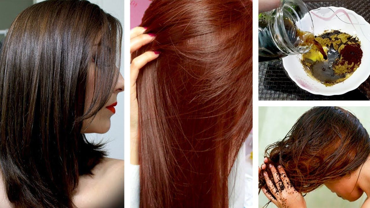 How I Achieved Brown Hair Color 110 Natural Homemade Hair Dye Urdu Hindi Youtube Natural Brown Hair Homemade Hair Color Coffee Hair Dye
