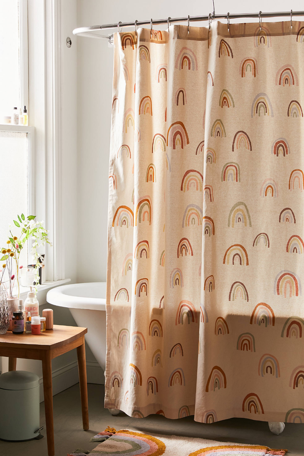 Painterly Rainbows Shower Curtain Urban Outfitters In 2020