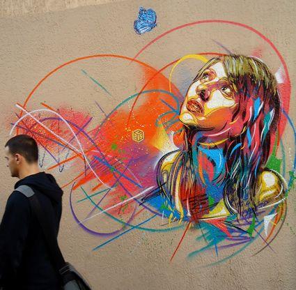 Paris France Fine Artist C215 Artistaday Street Artists Street Art Art