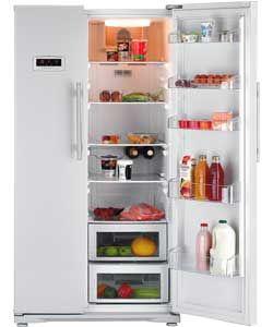 Beko Gnev120aps American Fridge Freezer Silver Buying Kitchen
