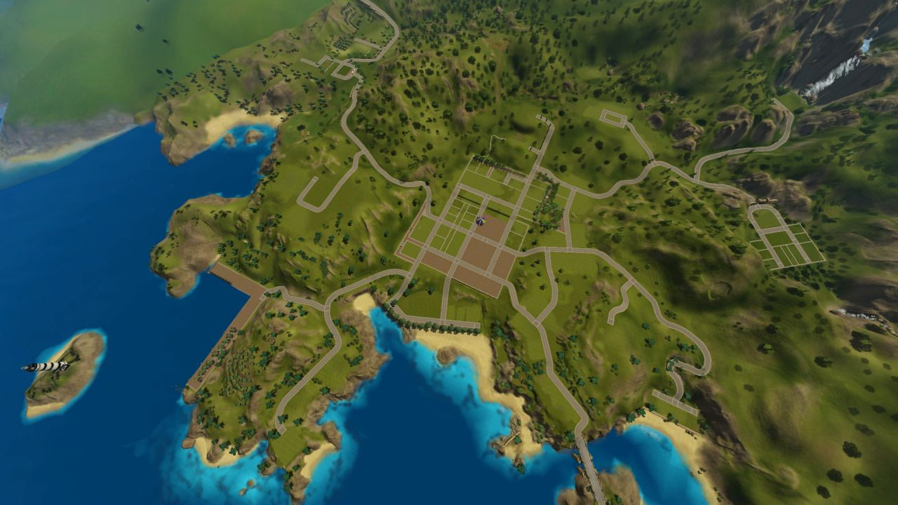Journey Through The Sims Porto Estivo Sims World Pinterest - Blank world map sims 3