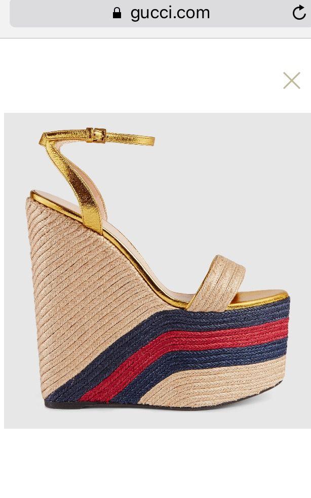 df62f208e8e Gucci wedges 😩 Love them need them My style - Bijoux Hut