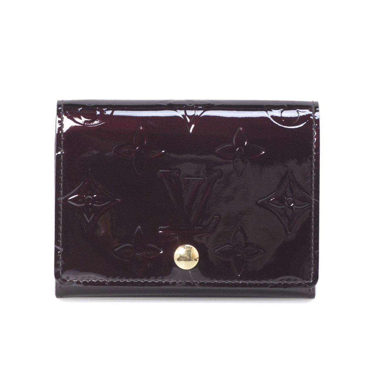 Louis Vuitton Amarante Vernis Business Card Holder Modaselle