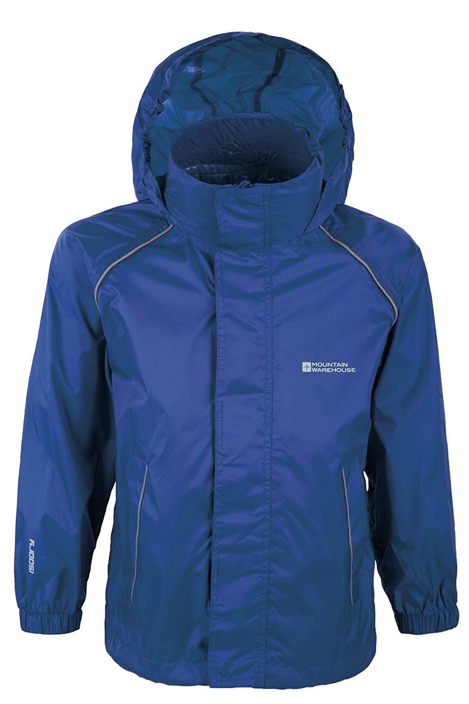 860336e1c Mountain Warehouse Pakka Kids Rain Jacket - Waterproof - Girls & Boys