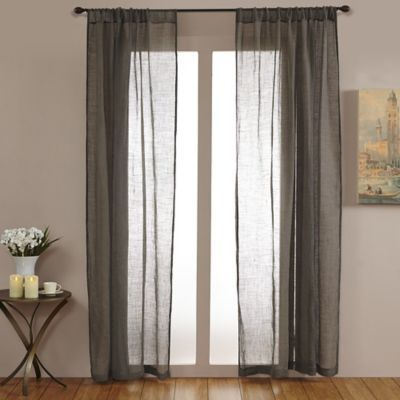 Open Weave Linen Sheer Products In 2019 Sheer Linen Curtains