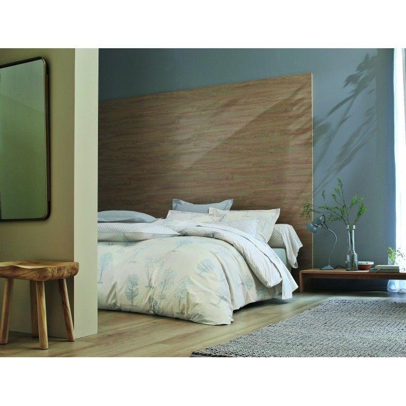 o de linge parure de lit fuji chambre parentale. Black Bedroom Furniture Sets. Home Design Ideas