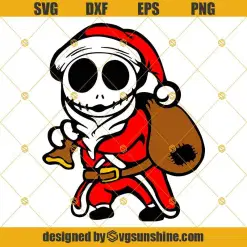 Jack Santa Claus Svg Jack Skellington Christmas Svg Santa Jack Svg Christmas Svg Png Dxf Eps Svgsunshine In 2020 Christmas Svg Jack Skellington Invitation Cards