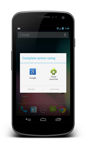 Swipe Launcher for Android gives users a way to change