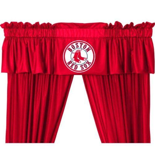 Boston Red Sox Valance By Sports Coverage 26 99 Boston Red Sox