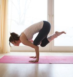 3 steps to flying baby pigeon pose  pigeon pose yoga