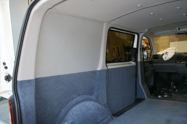 Vw Transporter Insulation And Carpeting 25 Best Ideas