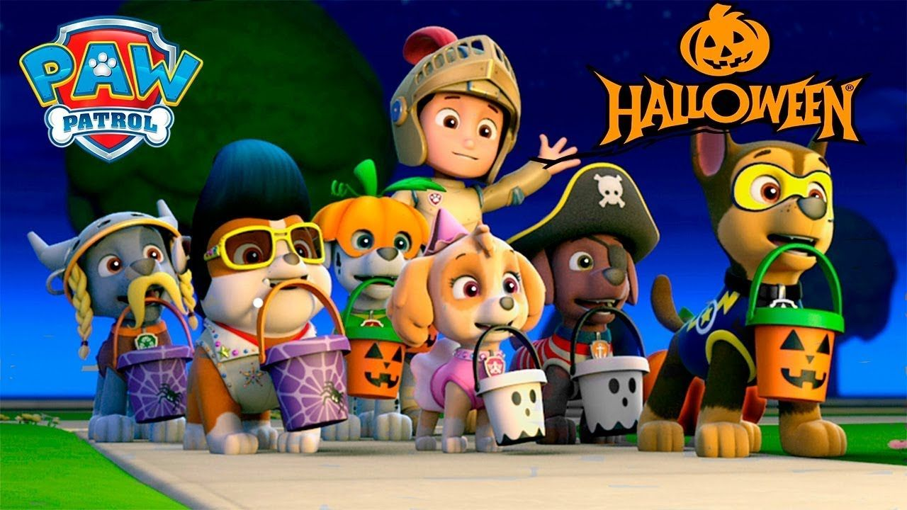 Paw Patrol Nick Jr Halloween House Party Haunted Adventure  Paw Patrol  Mission Paw Kids Game Video