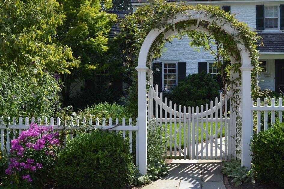 Trellis Design Wooden Garden Arbors Custom Made New England