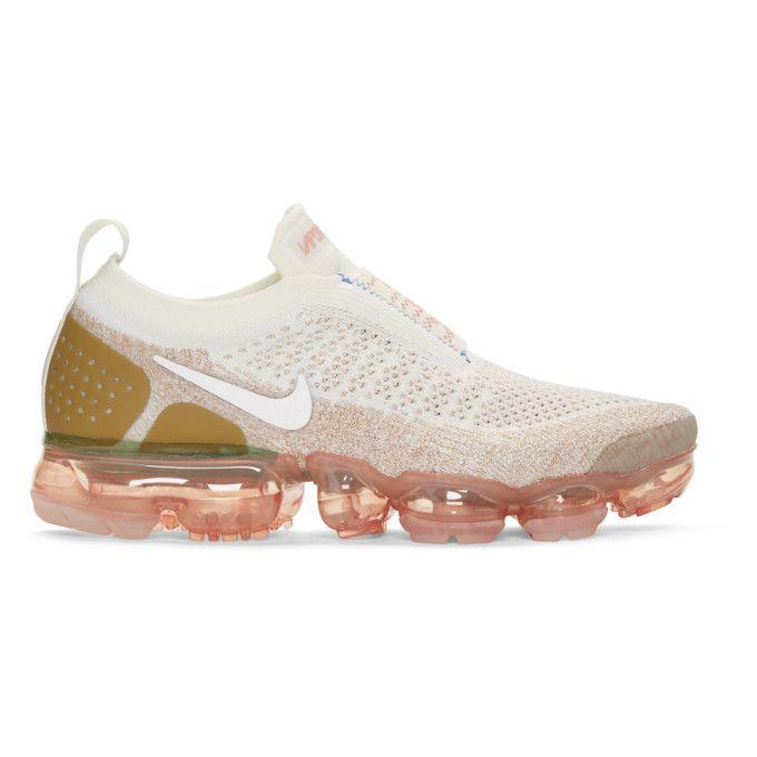 748b3522bc Nike - Beige Vapormax Flyknit MOC 2 Sneakers | shoes | Sneakers nike ...