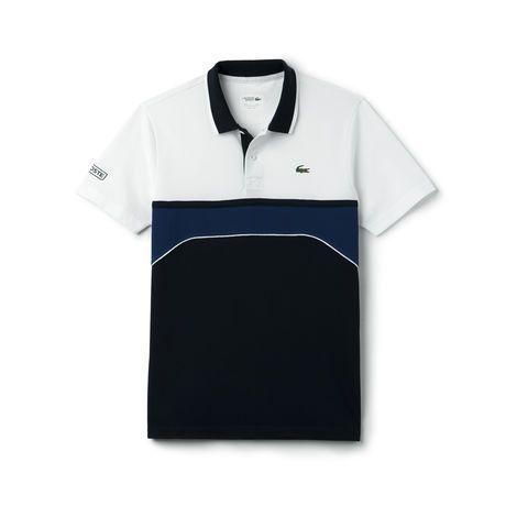 Polo Lacoste SPORT Tennis masculina com gola em jacquard   camiseta ... 83623c2c82