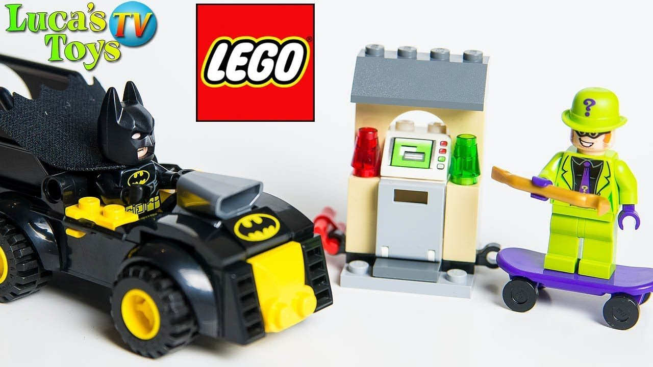 Batman vs The Riddler Robbery (Batman Lego 2019 sets 76137