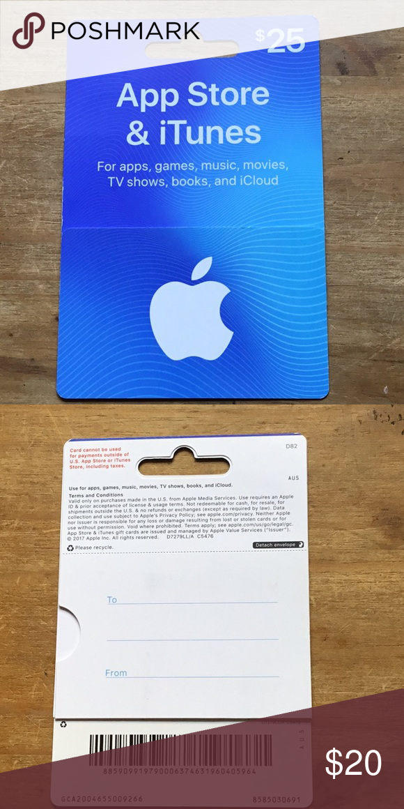 25 Apple Itunes Gift Card Authentic New Unused They Just Keep Piling Up And I M Never Going To Use Free Gift Cards Online Itunes Gift Cards Free Gift Cards