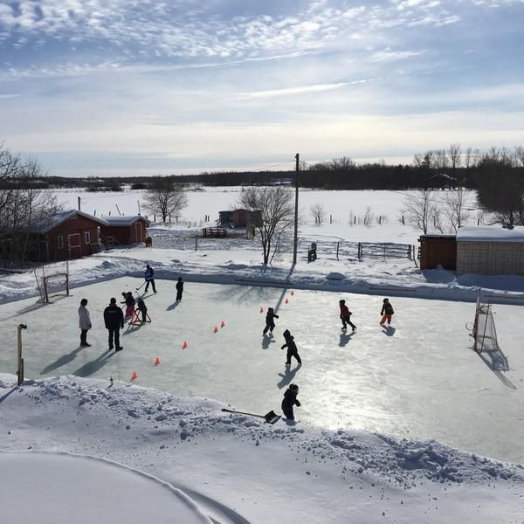Backyard Ice Hockey Rinks Best Home Ice Skating Rink Kits ...