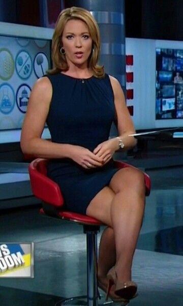 Hottest cnn newscasters upskirt slips