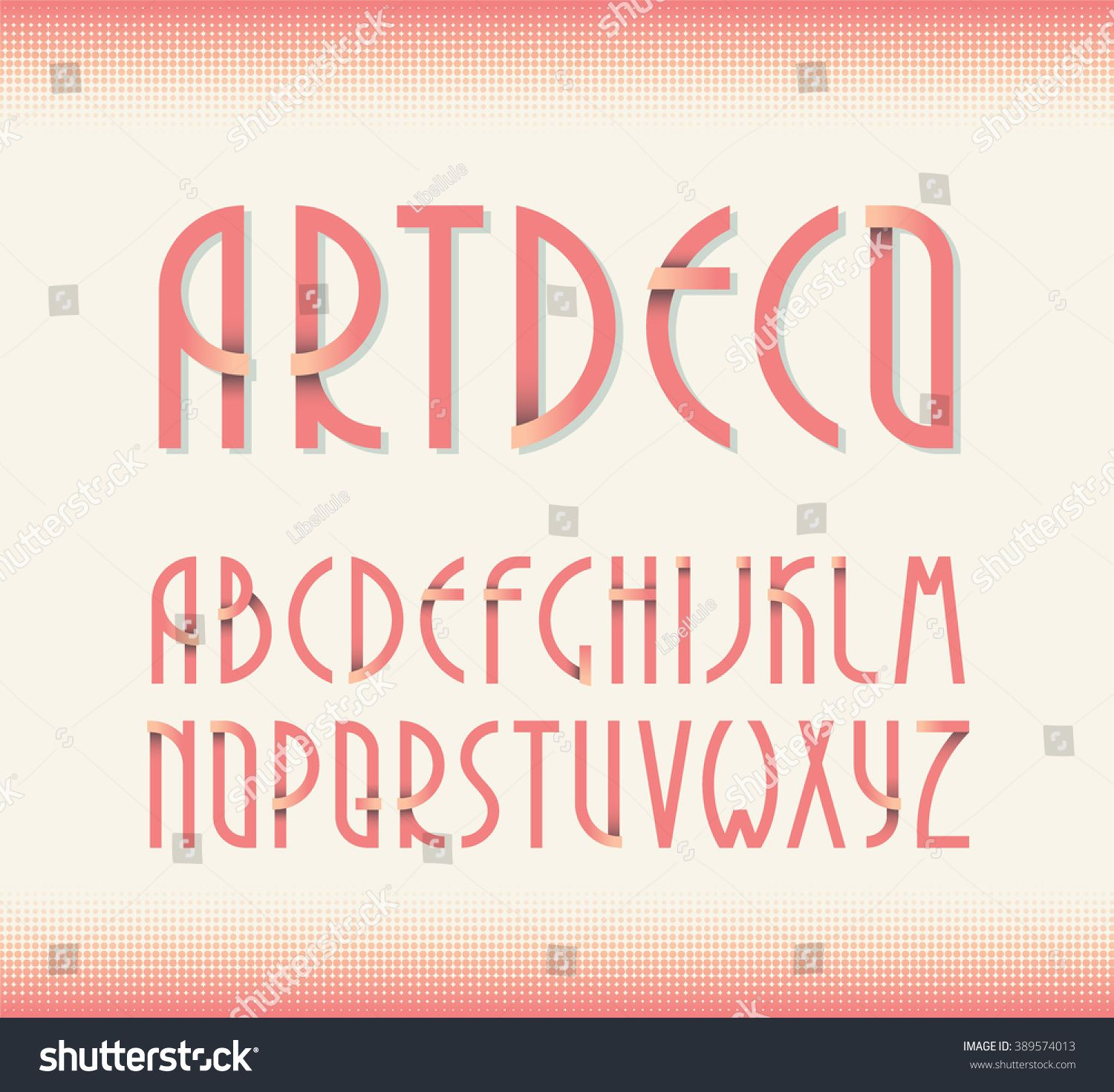 Deco Vintage Poster Typeface Font Set Of Retro Style Latin Capital Letters Ad Ad Typeface Font Poster Deco In 2020 Vintage Posters Alphabet Images Poster Fonts