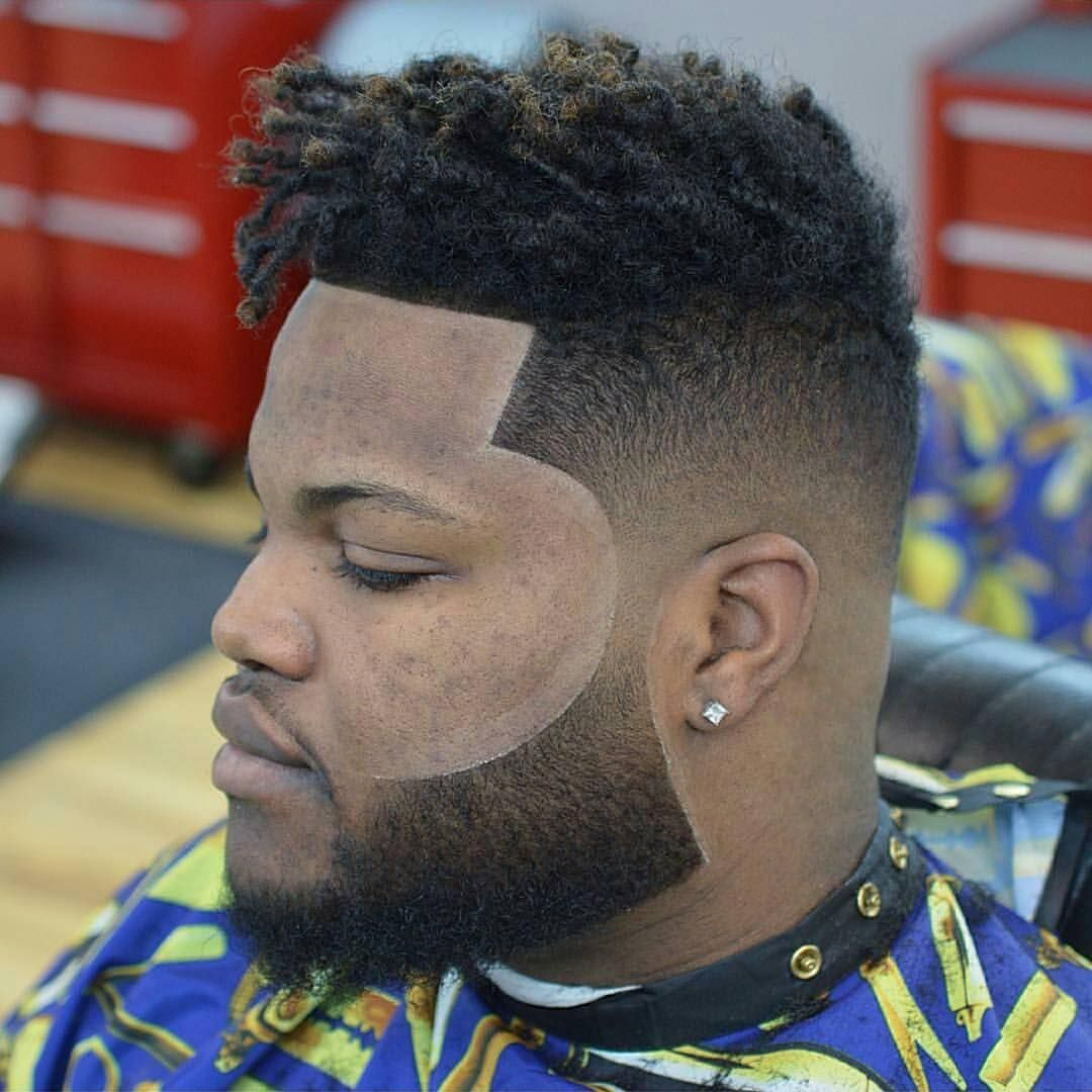 Friendly Mutton Chops Beard Style For Black Men Black Men Beard - Haircut styles for black men with curly hair