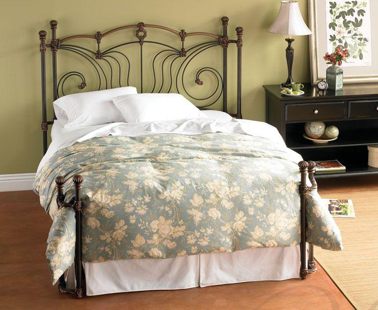 Wesley Allen Chelsea Iron Bed Hudson Furniture Bed