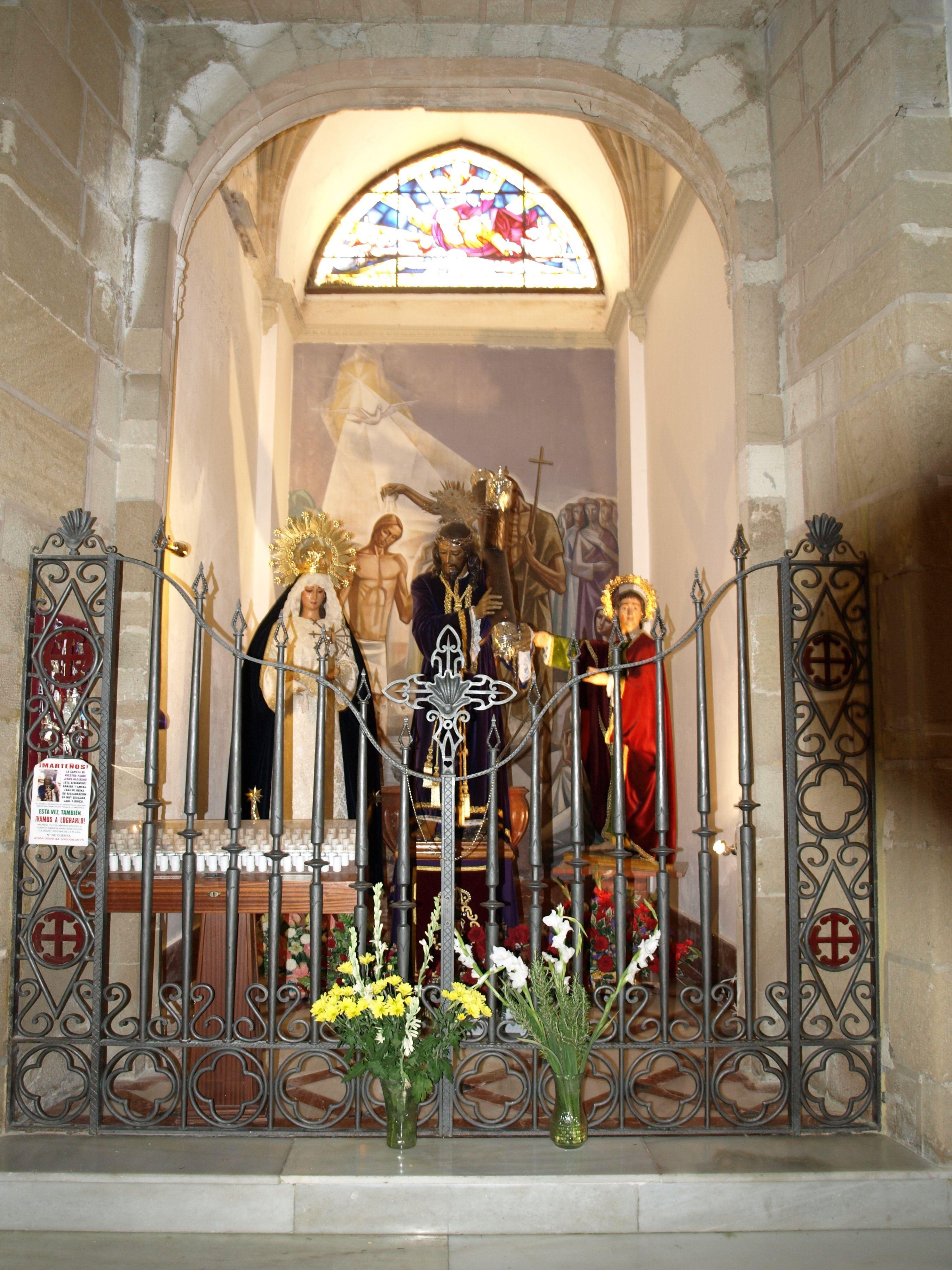batisterio y capilla de Nuestro Padre Jesús Nazareno