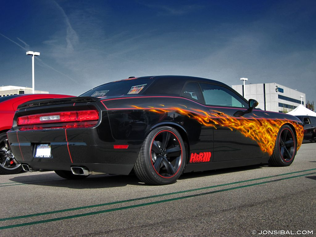 Jon Sibal\'s Dark Knight Challenger [video] | eBay Motors Blog | Car ...