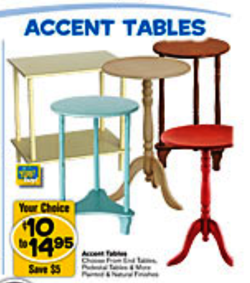Freds Dollar Store Accent Table This Accent Table Looks Even