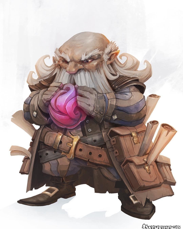 regram @eyardt Currator - Pathfinder - Paizo #pathfinder #dwarf