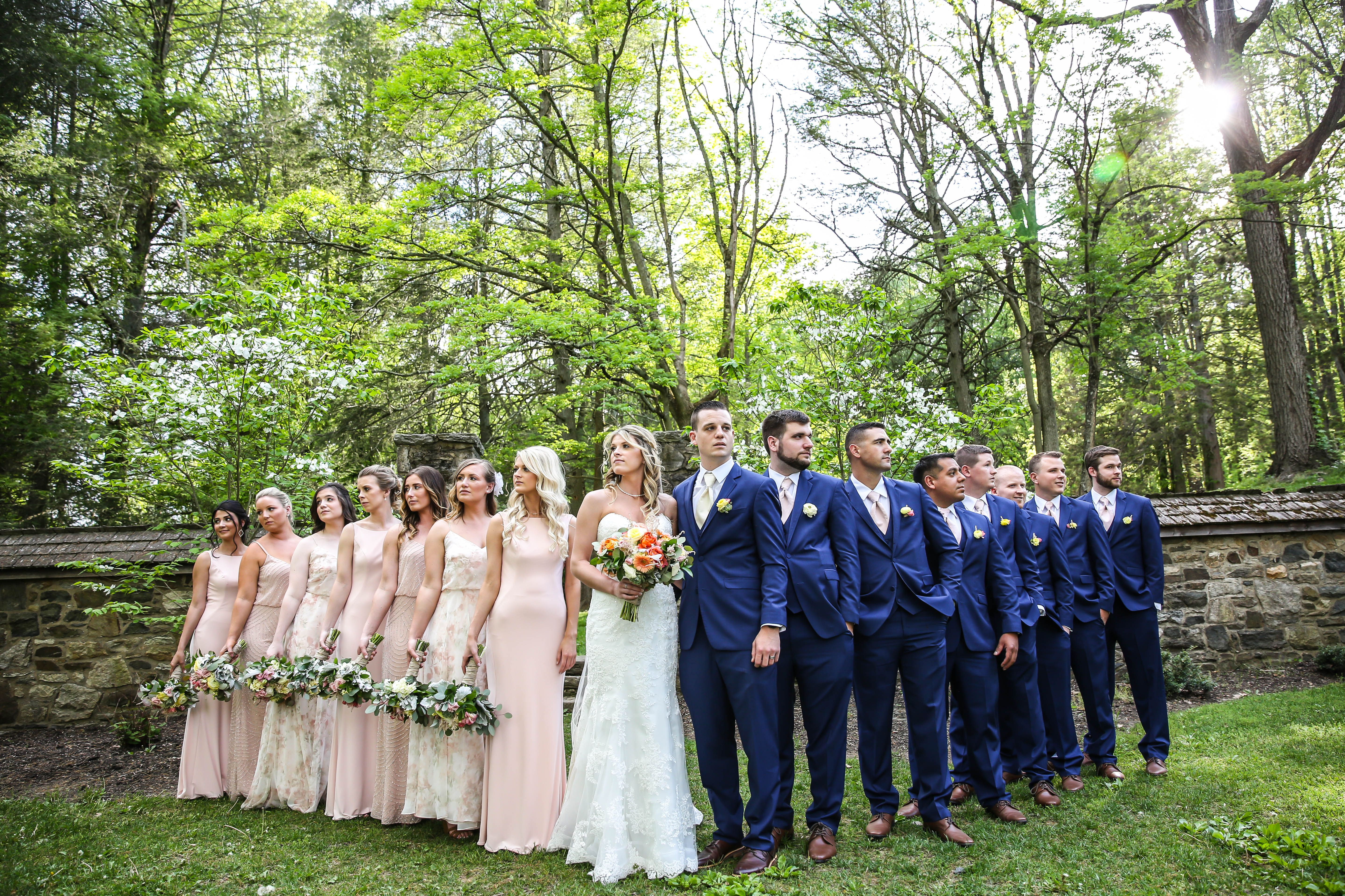 Ridley Creek State Park Wedding Lauryn Reifinger Photography