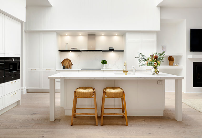 Deb & Andy's Kitchen The Block Kitchens & Laundries 2019