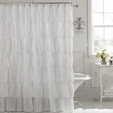 Layered Voile Shower Curtain Already Bought This My First