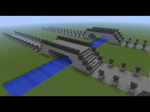 Minecraft Building Ideas #7 - Anvil Bridge | with the kids