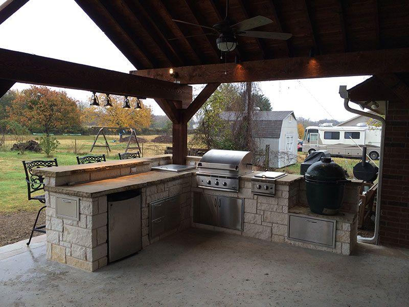 Outdoor Kitchens Portfolio Hillman Outdoor Living Fort Worth Tx Outdoor Living Outdoor Kitchen Kitchen