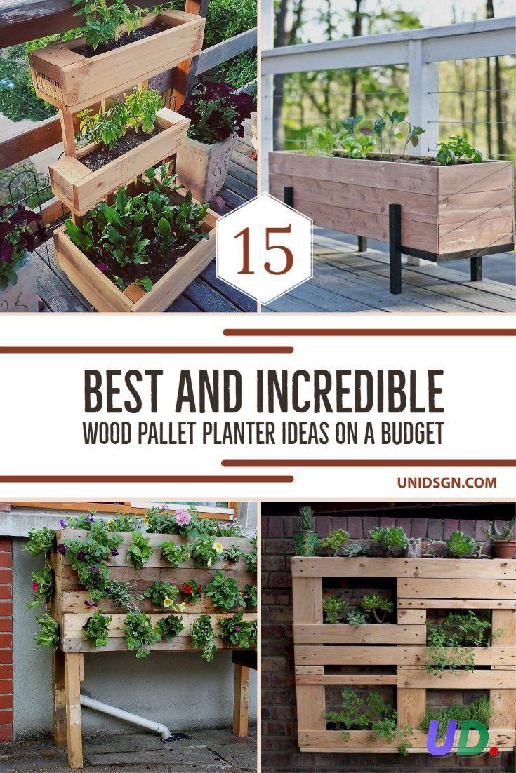 Wood Pallet Planters Planter