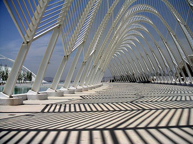 Santiago Calatrava's Olympic Agora by bitful, Greece-Athens, via Flickr