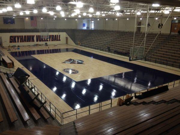 Ut Martin Fieldhouse Projects Sports Floors Inc Basketball Floor Gym Flooring Sports