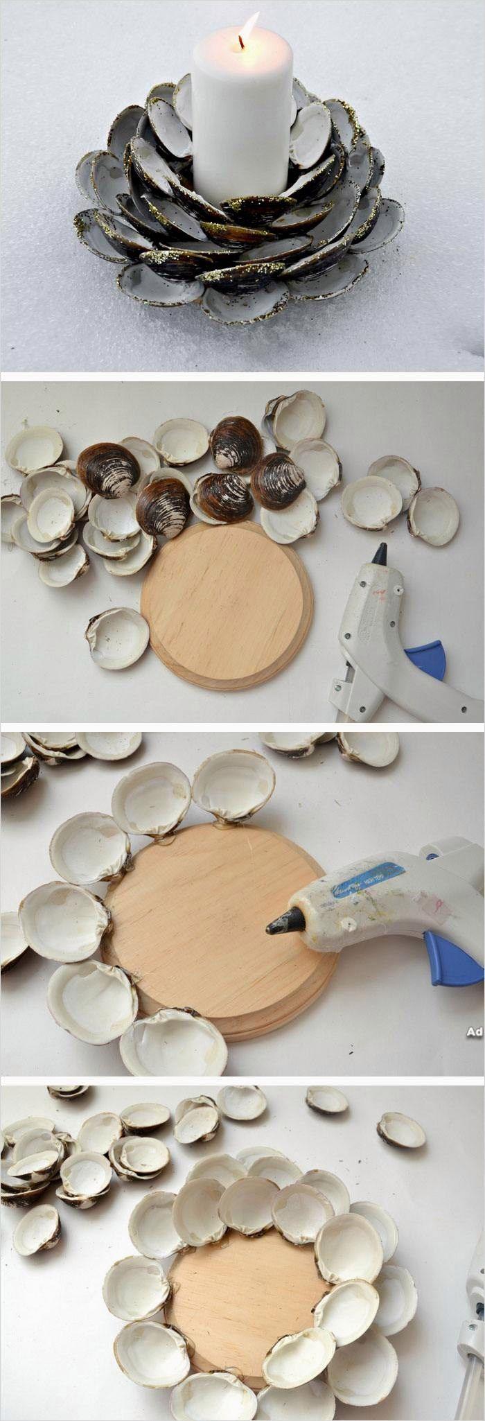 40 Diy Easy Seashell Craft Ideas That Will Impress You Diy Craft