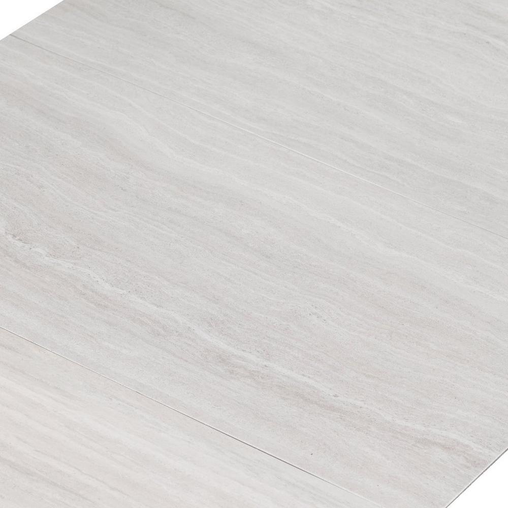 Casa moderna travertine cloud vinyl tile 12in x 24in for Casa moderna vinyl flooring installation