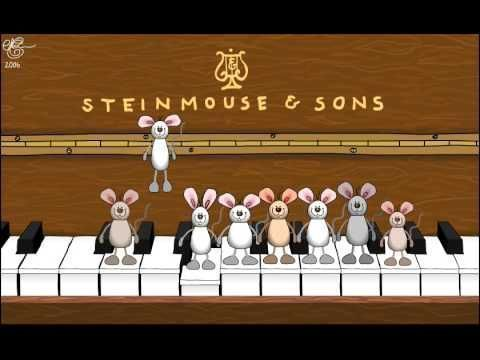Happy Birthday Musical Mice - played on the piano