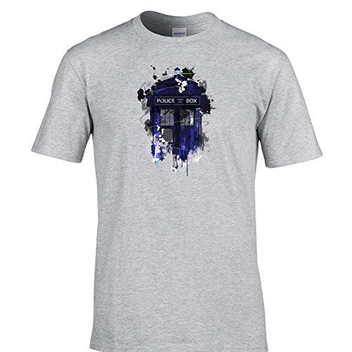 2e9ff5ace Police Public Call Box T Shirt Time Travel Space Science Fiction The Doctor  Dr: Amazon.co.uk: Clothing