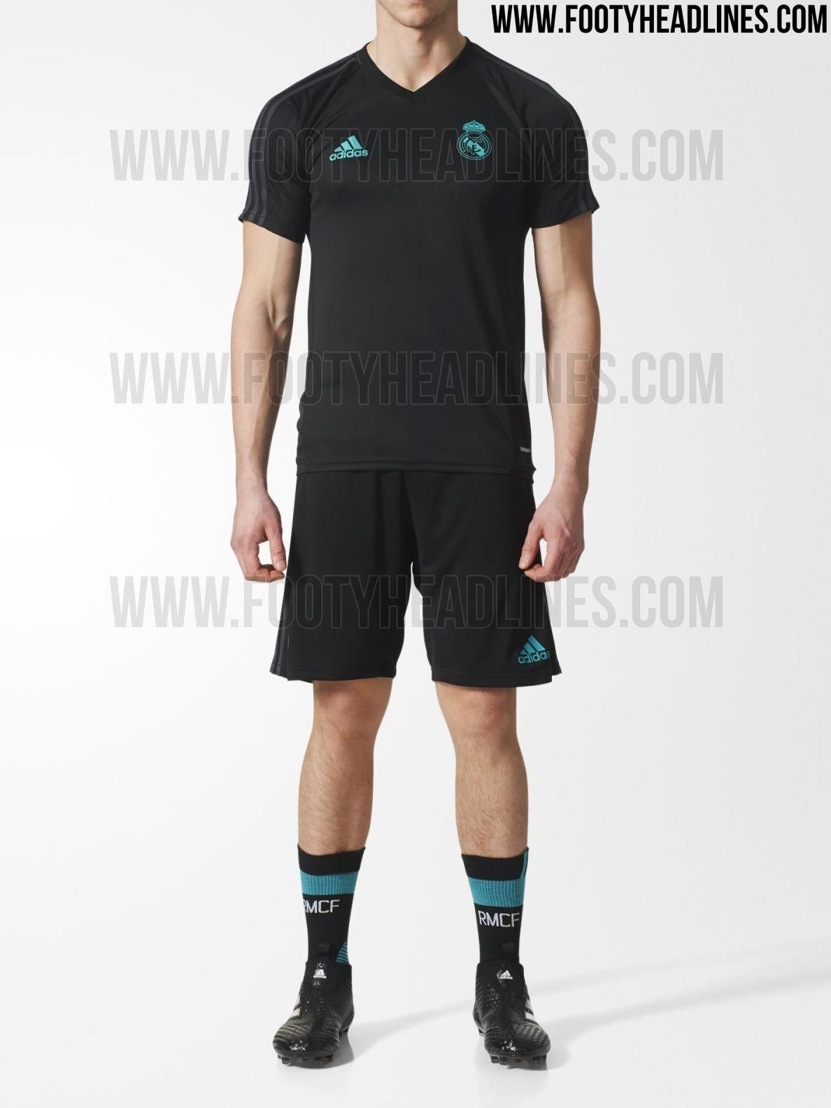 As always, Adidas has prepared a clean look for the Real Madrid training  kits.
