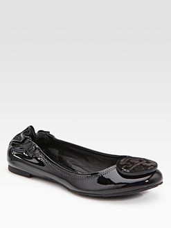 2a696d55695 Tory Burch - Reva Patent Leather Ballet Flats