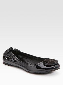 309ce67e1edb Tory Burch - Reva Patent Leather Ballet Flats